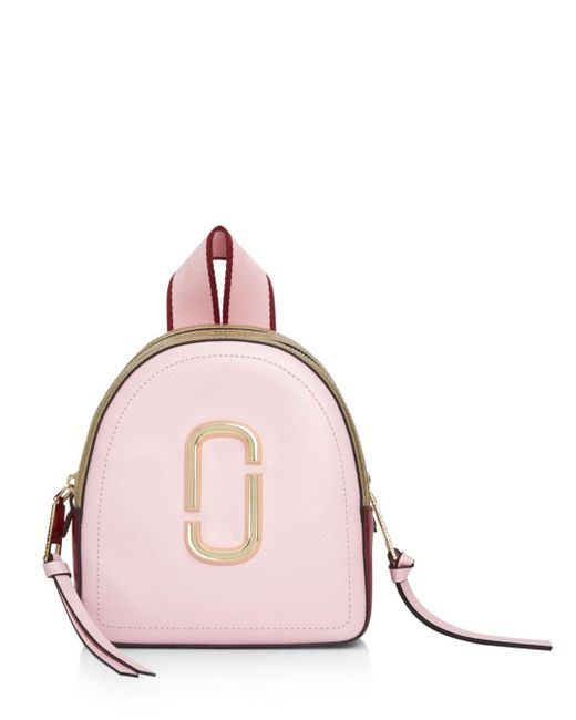 Marc Jacobs - Pink Mini Pack Shot Color-block Backpack - Lyst