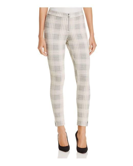 Hue | Multicolor Plaid Loafer Skimmer Leggings | Lyst
