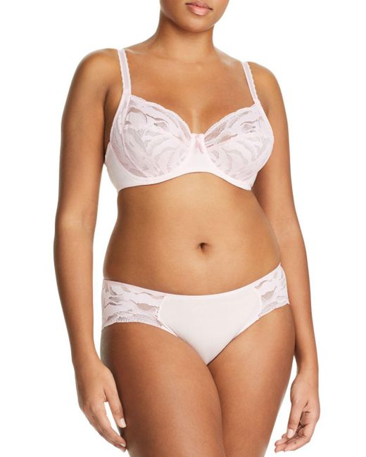 9524aeea21 ... Wacoal - Natural Top Tier Full-figure Underwire Contour Bra - Lyst