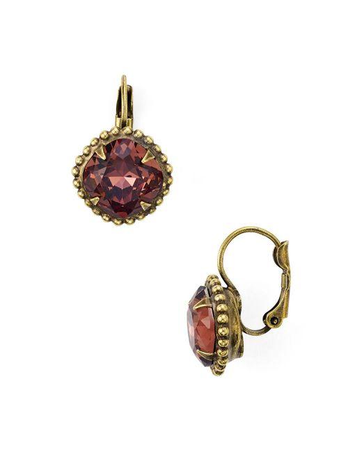 Sorrelli | Multicolor Leverback Earrings | Lyst