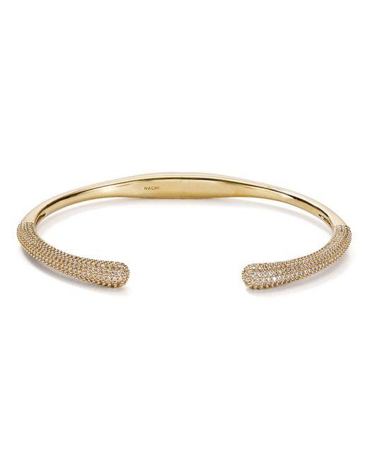 Nadri - Metallic Dappled Bottom Hinge Bracelet - Lyst