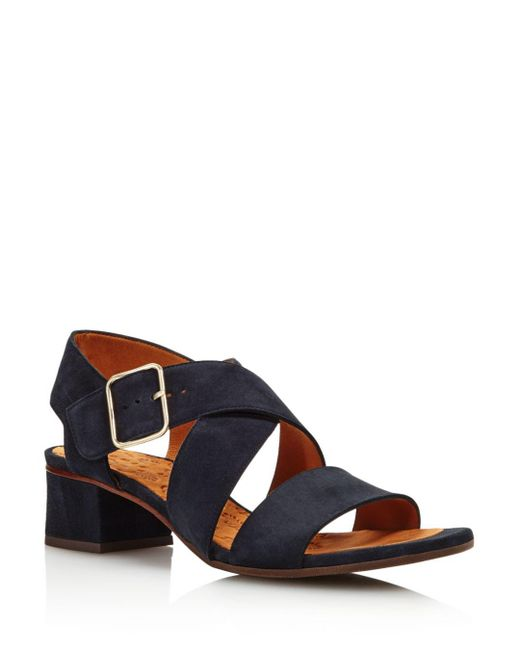 a646a89f3d7 Lyst - Chie Mihara Women s Amazon Block-heel Sandals in Blue