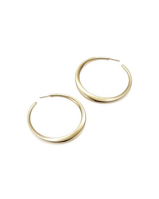 Ippolita - Metallic Glamazon 18k Yellow Gold Hoop Earrings/2.35 - Lyst