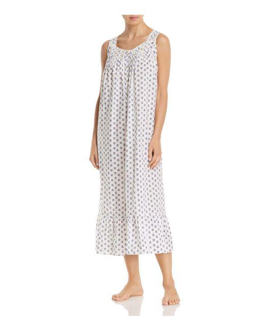 Eileen West | Blue Sleeveless Ballet Nightgown | Lyst