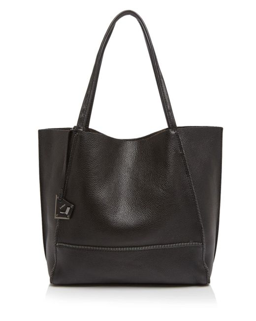 Botkier - Black Soho Heavy Grain Pebbled Leather Tote - Lyst