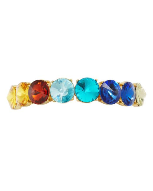 BaubleBar - Blue Cosette Multicolor Stretch Bracelet - Lyst
