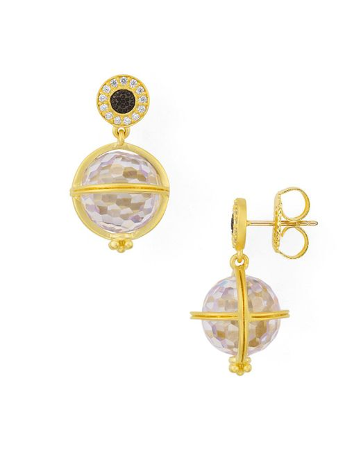 Freida Rothman | Metallic Orbit Drop Earrings | Lyst