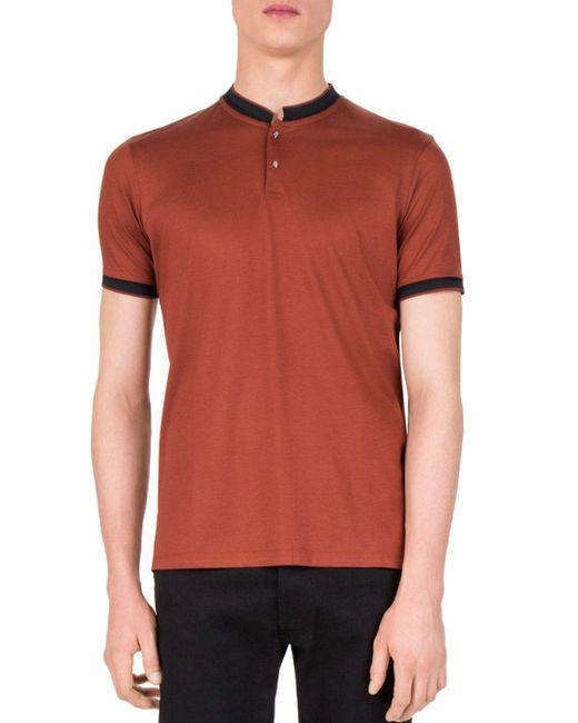 The Kooples - Orange Slim Fit Polo for Men - Lyst