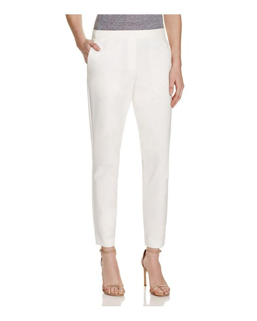 Theory - White Pants - Thaniel Approach - Lyst
