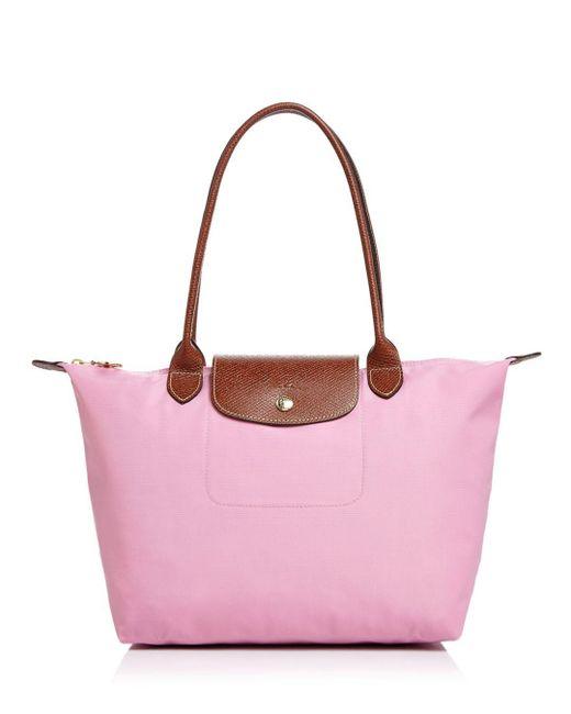 Longchamp - Pink Le Pliage Medium Nylon Tote - Lyst