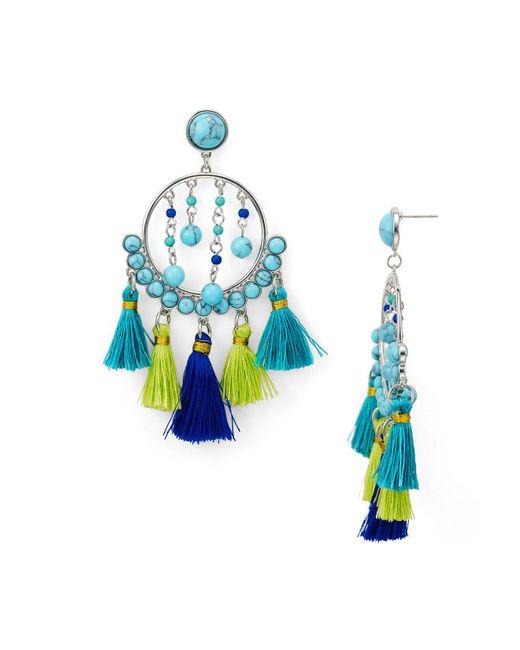 Rebecca Minkoff | Blue Dream Catcher Drop Earrings | Lyst