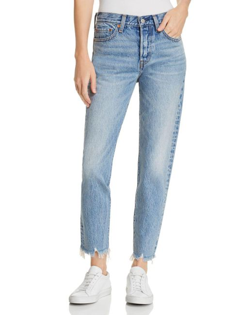 Levi's - Blue Wedgie Icon Straight Jeans In Shut Up - Lyst