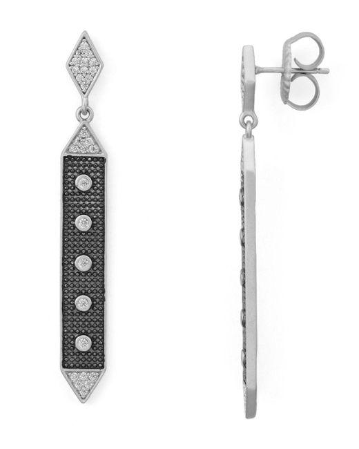 Freida Rothman - Metallic Linear Hammer Earrings - Lyst