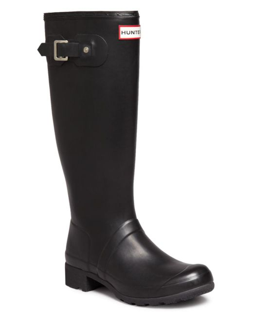 Hunter - Black Original Tour Rain Boots - Lyst