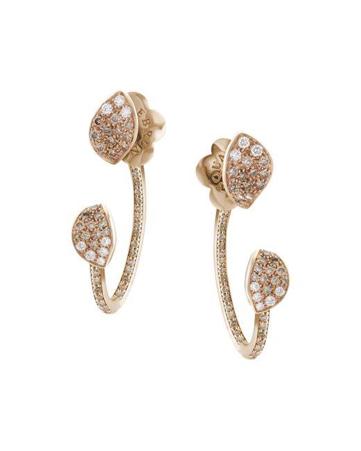 Pasquale Bruni | Metallic 18k Rose Gold Secret Garden Pavé Diamond Ear Jackets | Lyst