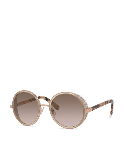 Jimmy Choo | Metallic 53mm | Lyst