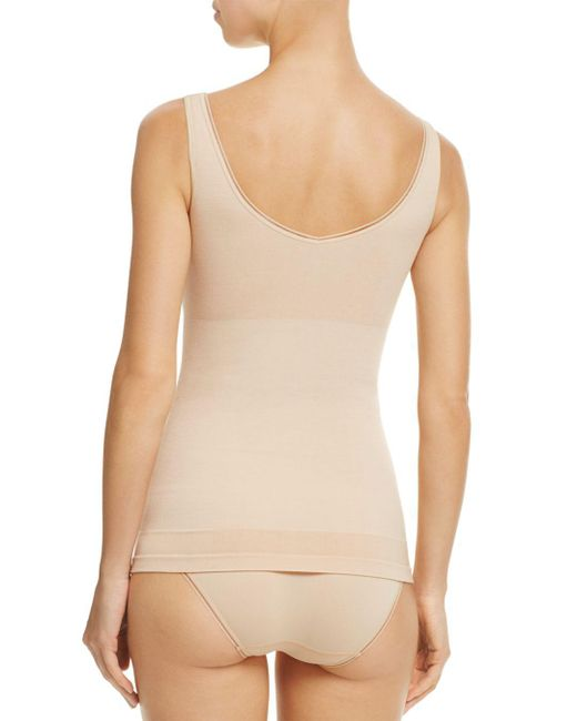 1367f6d944e38 ... Yummie - Natural Seamlessly Shaped 2-way Reversible Tank - Lyst