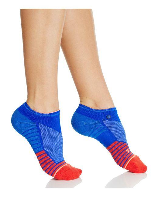 Stance | Blue Midnight Gardener Low Socks | Lyst