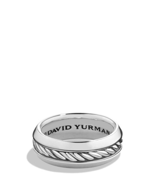 David Yurman - Metallic Cable Classics Band Ring for Men - Lyst