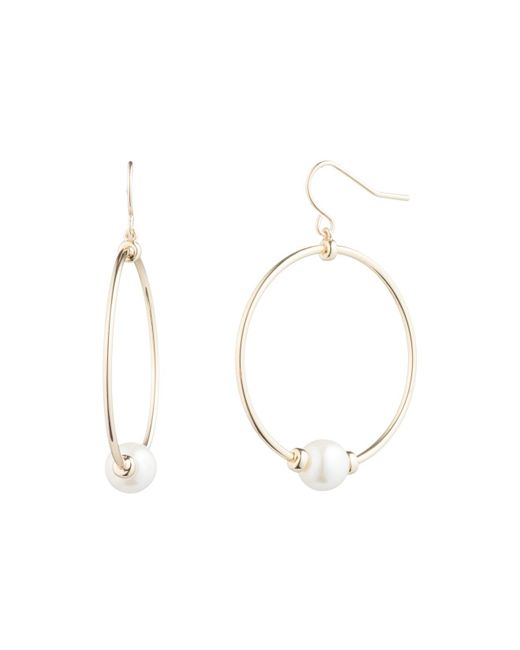 Ralph Lauren - Metallic Lauren Hoop Earrings - Lyst