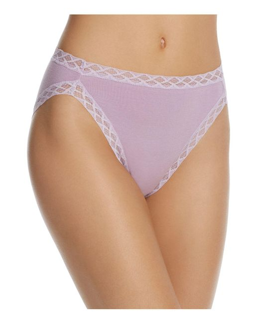 Natori   Purple Bliss French Cut Bikini   Lyst
