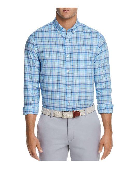 Vineyard Vines | Blue Pine Island Slim Fit Button-down Shirt for Men | Lyst