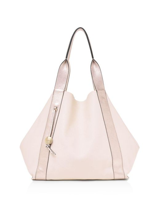 Botkier - Pink Baily Reversible Leather Tote - Lyst