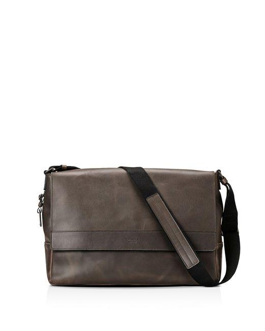 Shinola - Gray Distressed Messenger Bag for Men - Lyst