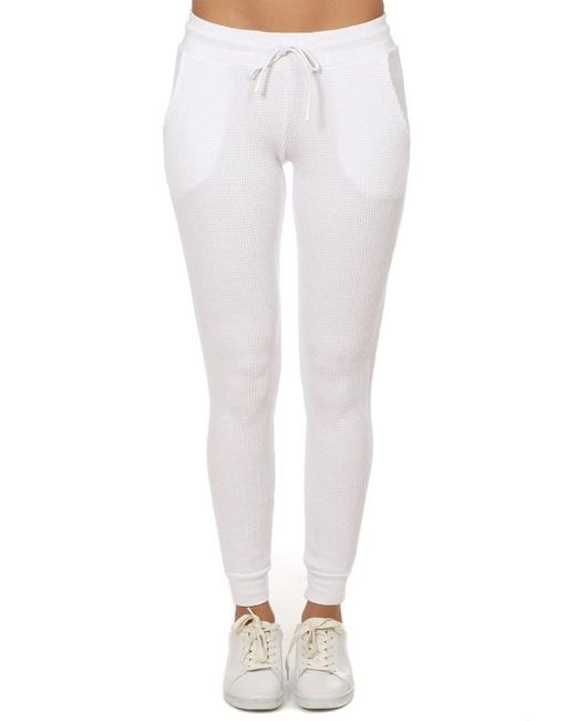 Cotton Citizen - Monaco Thermal Jogger White - Lyst