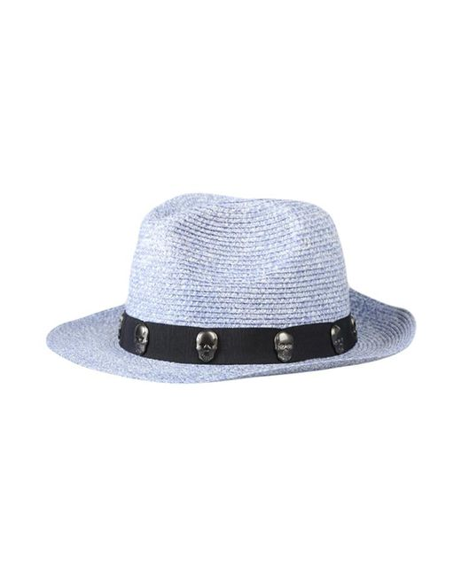 Lucien Pellat Finet - Blue Paper Skull Ribbon Hat for Men - Lyst