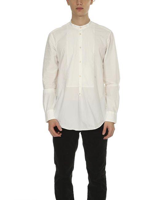 Massimo Alba - White Key Collar Shirt for Men - Lyst