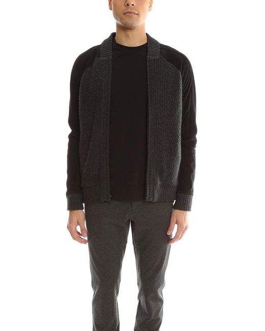 Quinn | Black Oliver Bomber Jacket for Men | Lyst