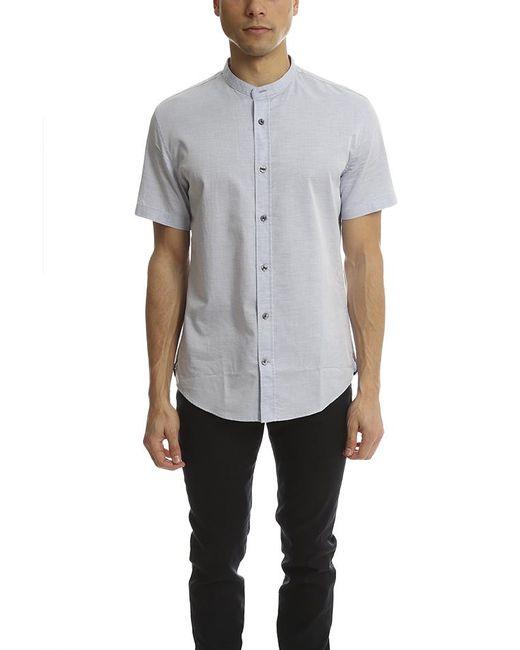 Vince - Blue Melrose Collar S/s Button Up - for Men - Lyst