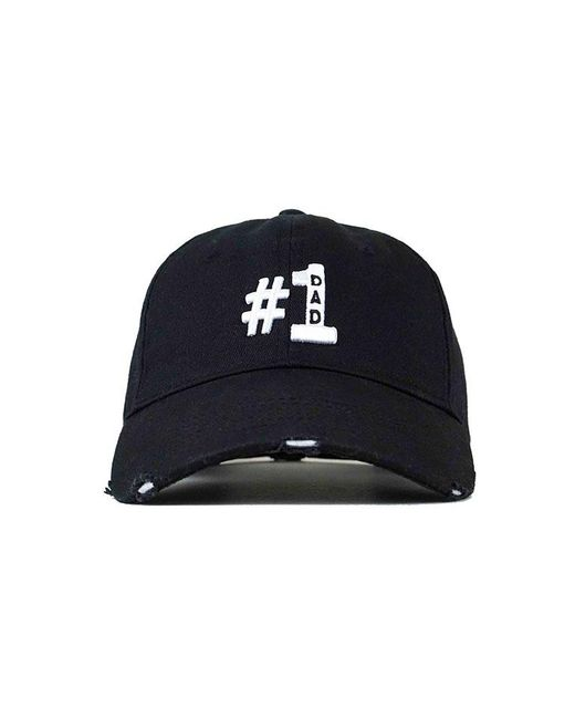 e38002cb90a Lyst - Head Crack NYC  1 Dad Hat in Blue for Men