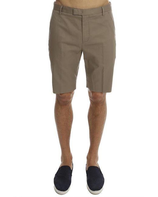 Helmut Lang - Brown Straight Leg Trouser Short for Men - Lyst