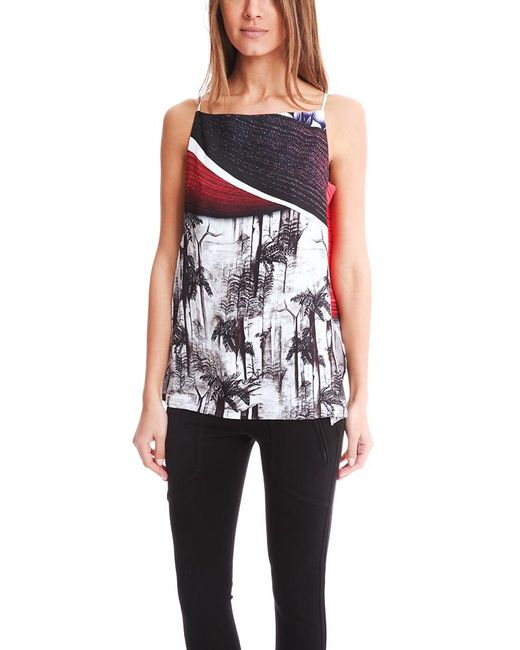 Clover Canyon - Multicolor Forbidden Forest Draped Camisole - - Lyst