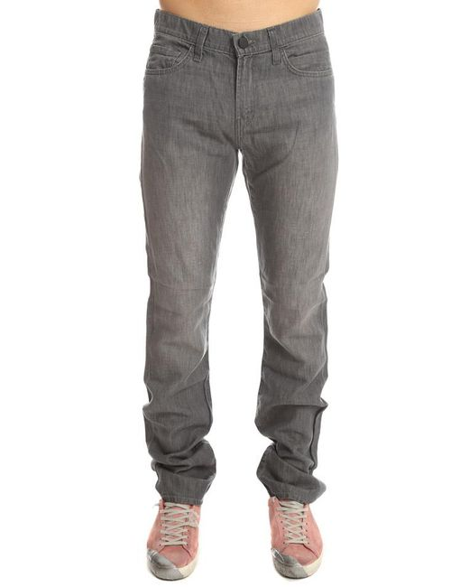 J Brand | Gray Kane Straight Ashford for Men | Lyst