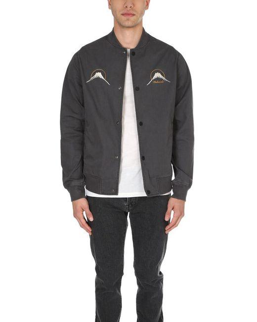 Maharishi - Black Rising Sun Summer Stadium Jacket for Men - Lyst