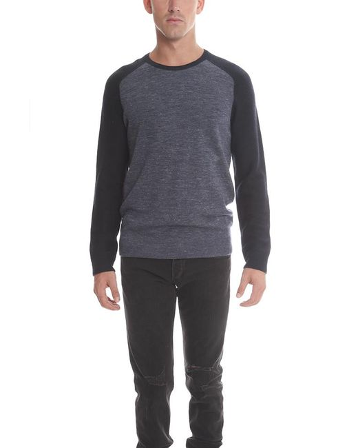 Vince - Gray Jaspe Crewneck Sweater for Men - Lyst