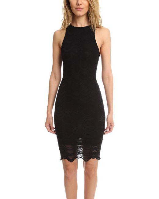 Nightcap - Black Victorian Lace Sports Dress - Lyst