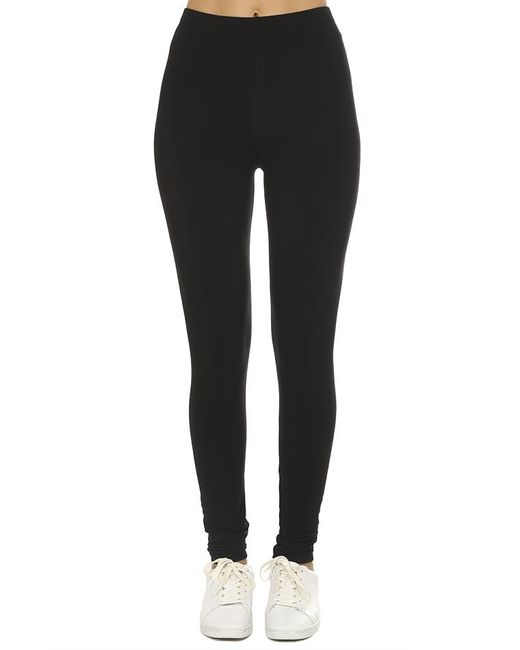 Majestic Filatures | Black French Terry Legging | Lyst