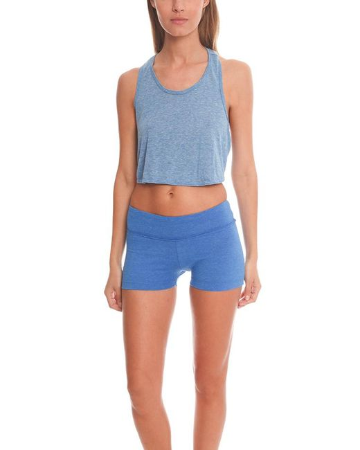 Alternative Apparel - Blue Keep Your Cool Top - Lyst