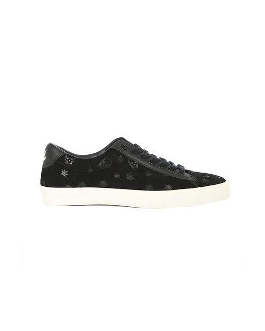 Lucien Pellat Finet - Black Monogram Mix Sneaker - Lyst