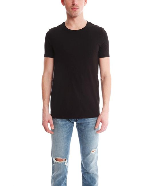 Acne - Standard O Black T-shirt - Lyst