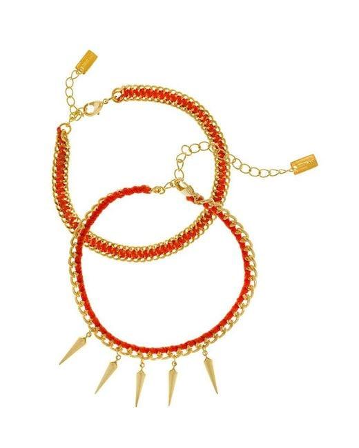 Chan Luu | Orange Friendship Bracelet | Lyst