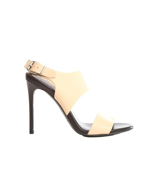 Acne - Natural Tillie Strappy Sling Back - Lyst