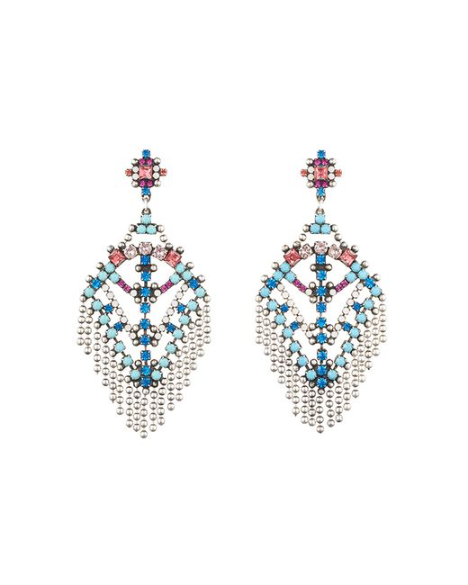 DANNIJO | Metallic Coraza Earrings | Lyst
