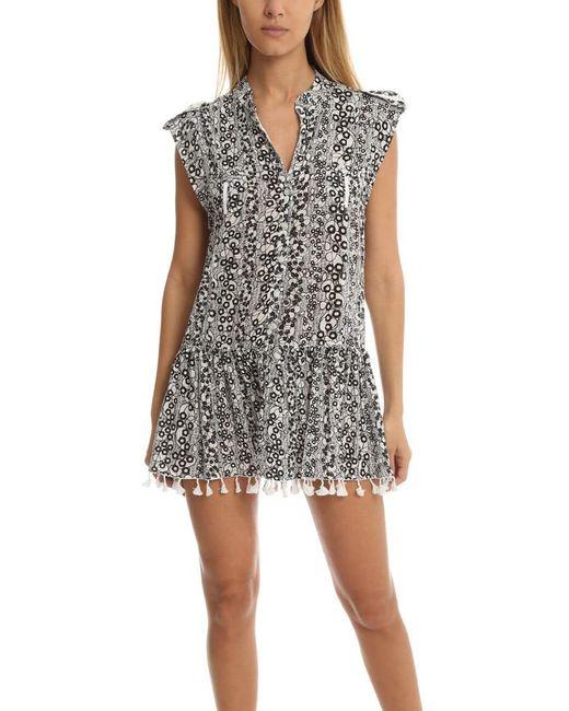 Poupette | Black Heni Mini Dress | Lyst
