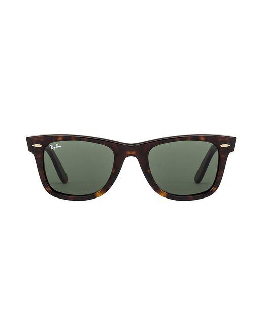 Ray-Ban | Brown Classic Tortoise Wayfarer Sunglasses for Men | Lyst