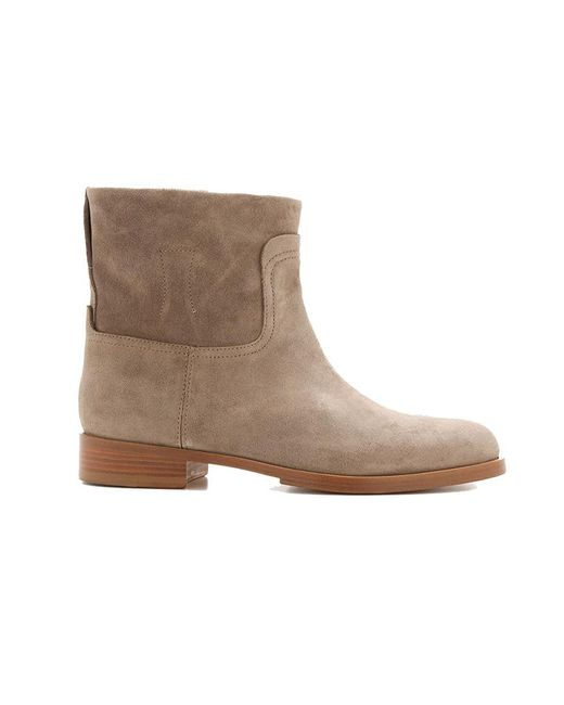 Rag & Bone | Natural Holly Suede Ankle Boots | Lyst